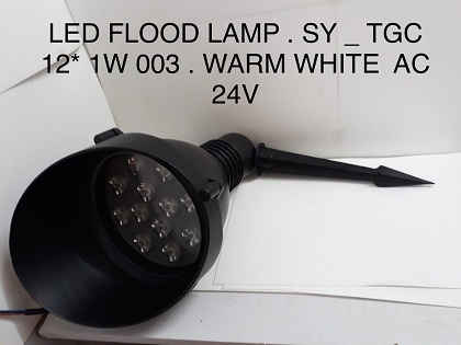 LED FLOOD LAMP SY TGC12*1W003 AS VÀNG