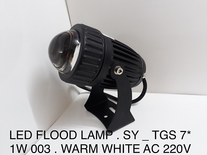 LED FLOOD LAMP SY TGS7*1W003 AS VÀNG